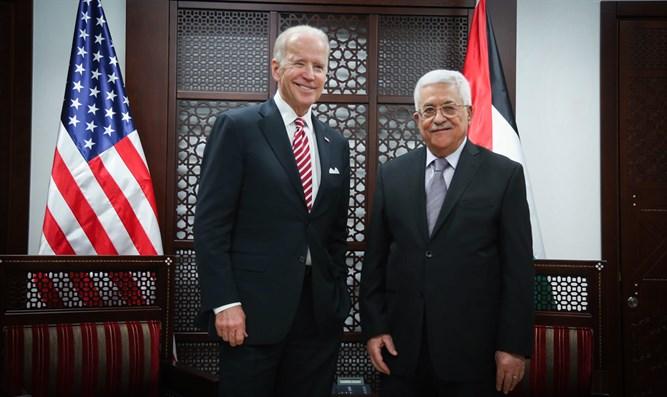 biden y palestinos