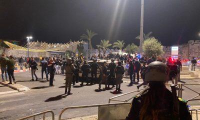 arabes y policia