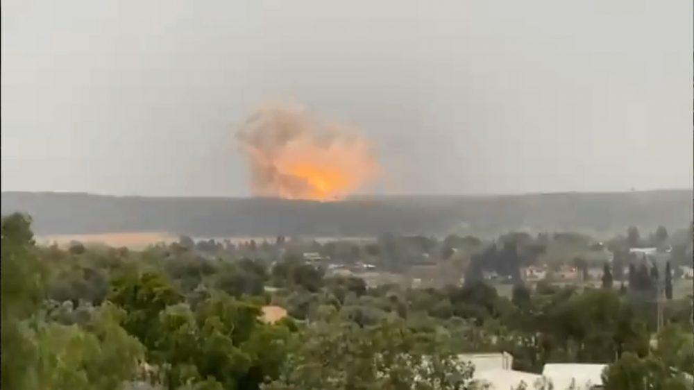 explosion israel