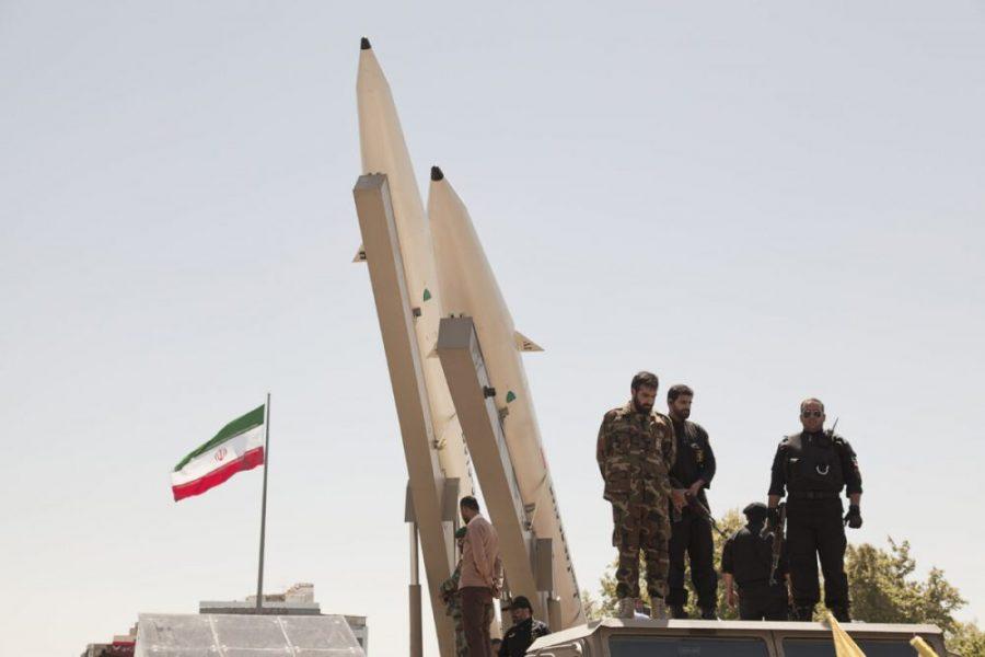 Quds,Day,Rally,,Display,Middleware,Missiles,,Zulfiqar,Rocket,,Iranian,Revolutionary