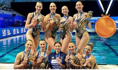 Conjunto natación artística Israel