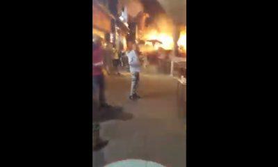 fuego en Holon