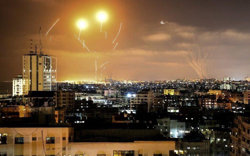PALESTINIAN-ISRAEL-GAZA-ROCKET