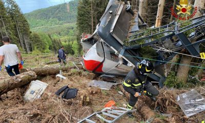 APTOPIX Italy Cable Car Deaths
