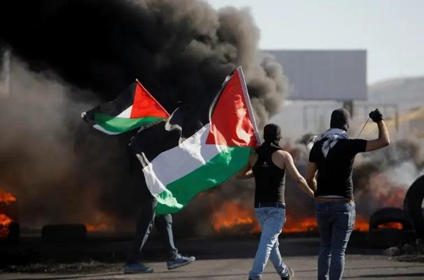 palestine on fire
