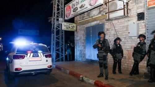 policia en las calles