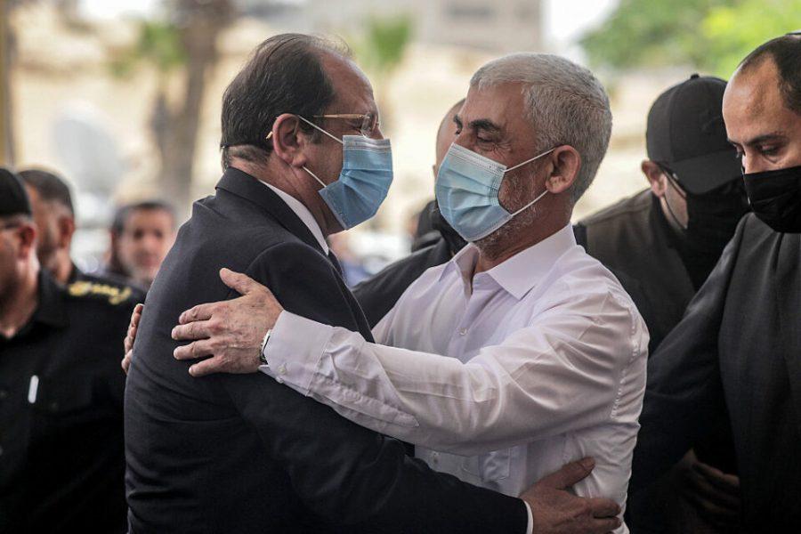 Palestinian Hamas Gaza Chief Yahya Al-Sinwar