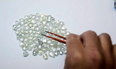 Aumentan las exportaciones de diamantes