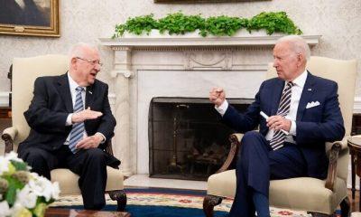 Outgoing Israeli President Rivlin meets President Biden at White House