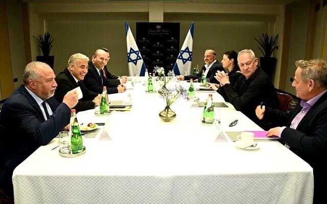 nuevo gobierno israel