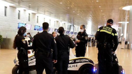 Aeropuerto Ben Gurión policías