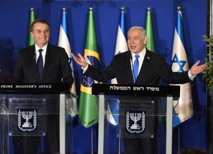ISRAEL-BRAZIL-DIPLOMACY
