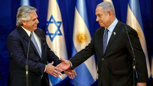 ISRAEL-ARGENTINA-DIPLOMACY