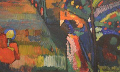 Bild mit Häusern (Pintura con casa)