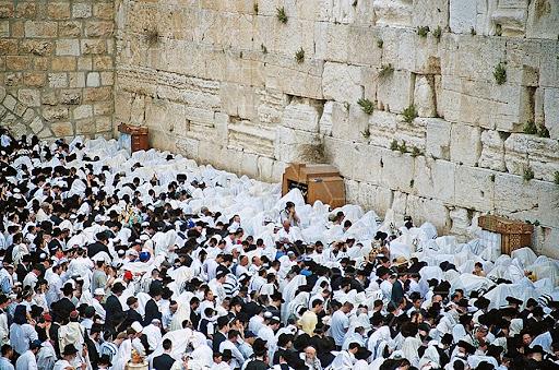 Judíos en el Kotel