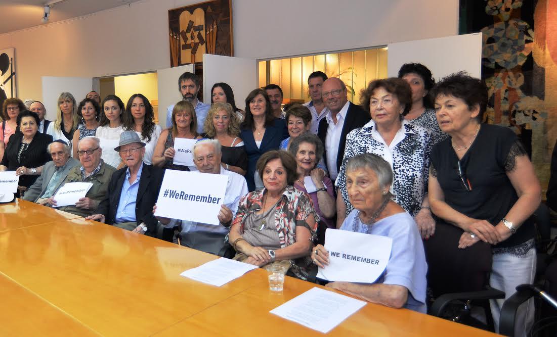 AMIA: Recuerdan Día Internacional de Conmemoración Anual en Memoria de las Víctimas de la Shoá