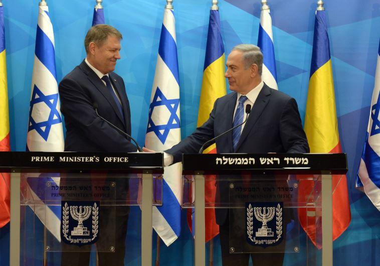 """Netanyahu al presidente rumano: """"Israel es un faro de libertad en Medio Oriente que protege a Europa"""""""