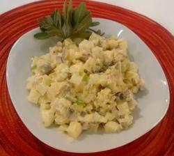 Gastronomía. Receta para una exquisita ensalada de arenque