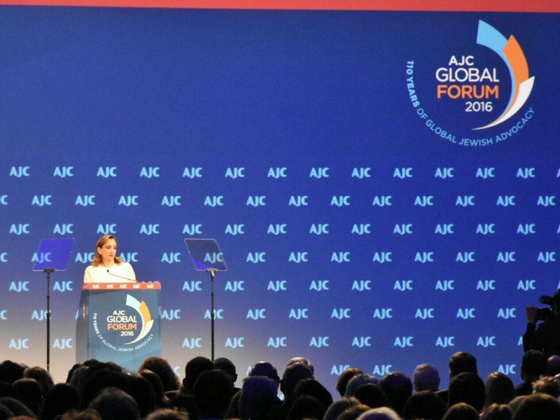 FOTO_2_Canciller_Claudia_Ruiz_Massieu__en_el_Comit__Jud_o_Americano_AJC_Global_Forum