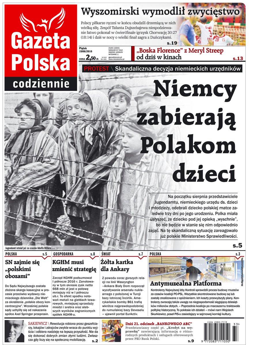 Antisemitismo. Polonia: Cínica utilización de la Shoá para promover una nota periodística en un diario