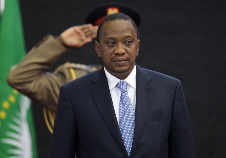 El presidente de Kenia llega a Israel
