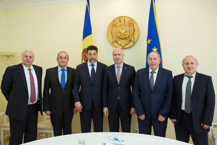 Darío Werthein se reunió con el primer ministro de Moldavia para aumentar la participación de ORT Mundial en el país
