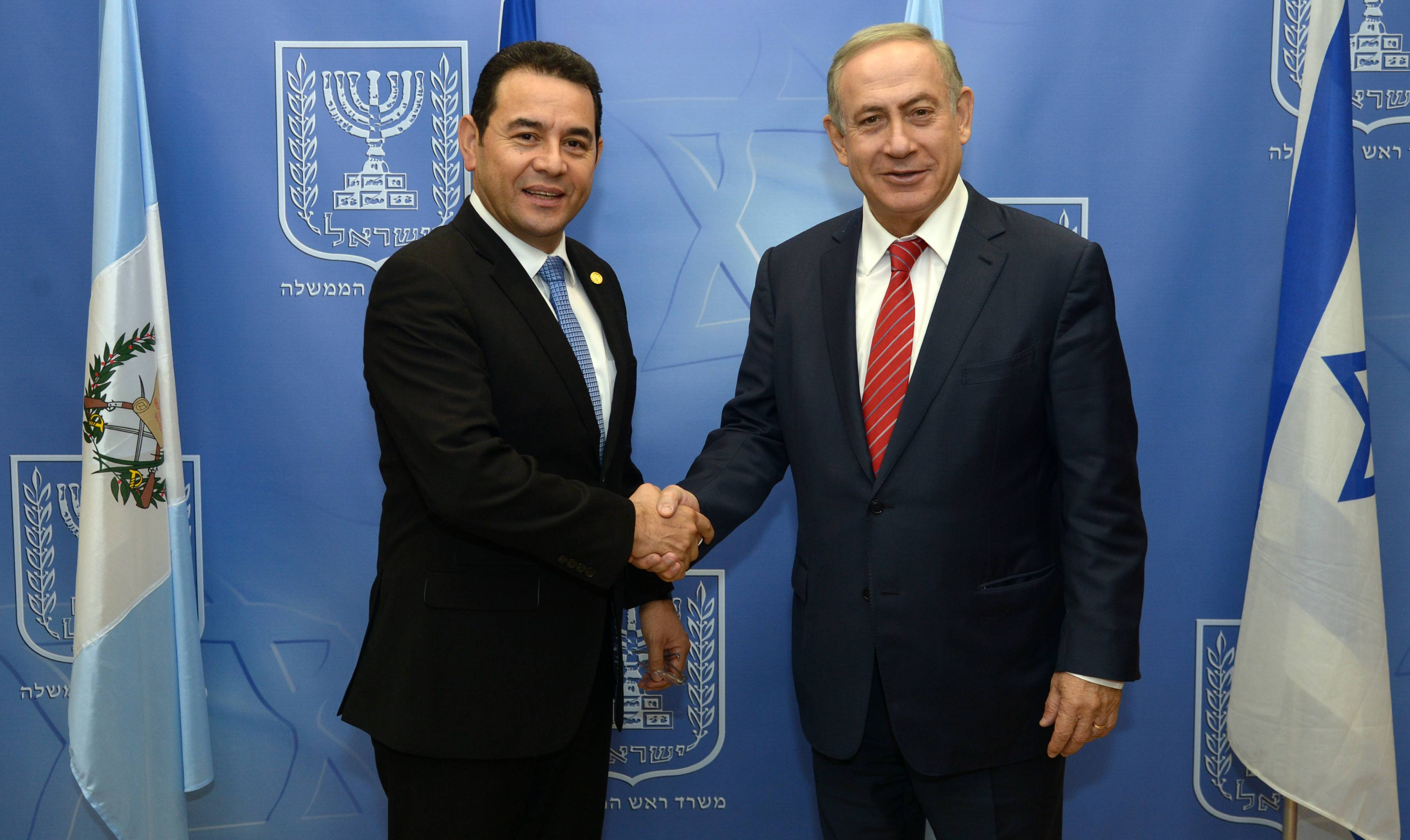 pm-netanyahu-guatemalan-president-morales