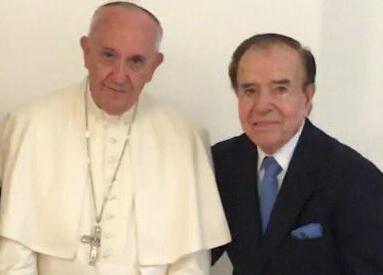 AMIA/Atentado. Papa Francisco recibe a ex Presidente argentino acusado de encubrimiento y falso testimonio