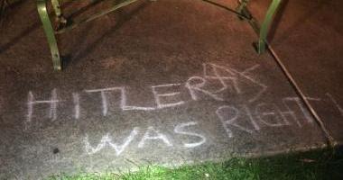 Antisemitismo. Estados Unidos: Detienen al autor de consignas y cruces esvásticas en parque de Ohio