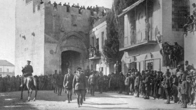 Hoy en la historia judía/ El General Allenby, simpatizante del sionismo, entra a Jerusalem