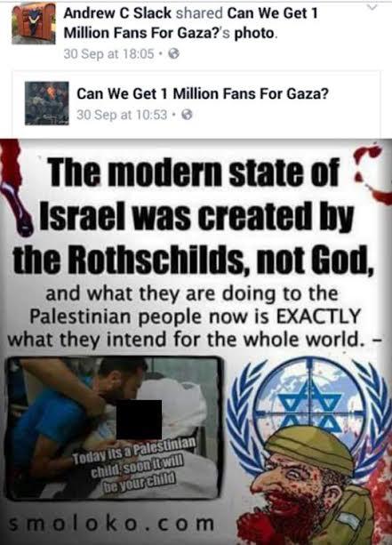 """Un político británico afirmó que """"Israel fue creado por los Rothschild, no por D's"""""""