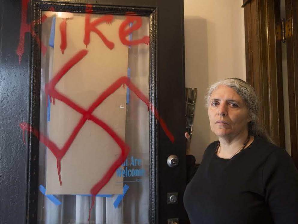 Pintadas antisemita en un centro judío de Ottawa