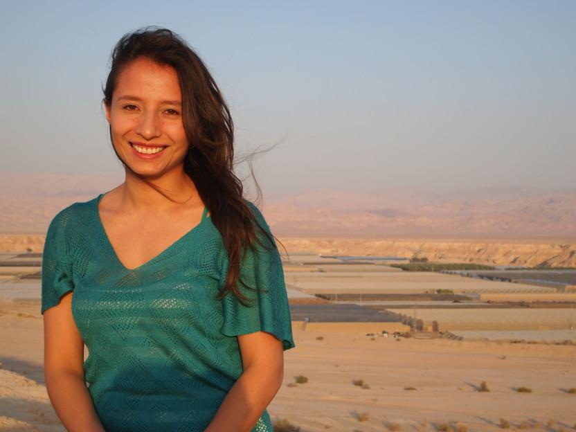 Una colombiana a cargo del área de Desarrollo de Recursos de Aravá en Israel