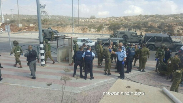 Israel frustró un ataque a puñaladas en el cruce de Tapuah