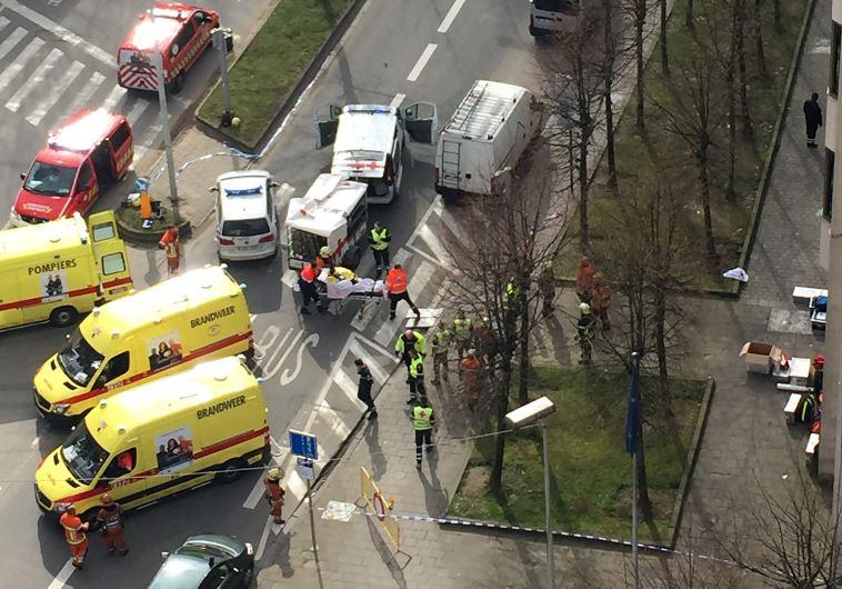"""La comunidad judía europea condenó al """"fascismo islámico y terrorismo"""" tras los ataques en Bruselas"""