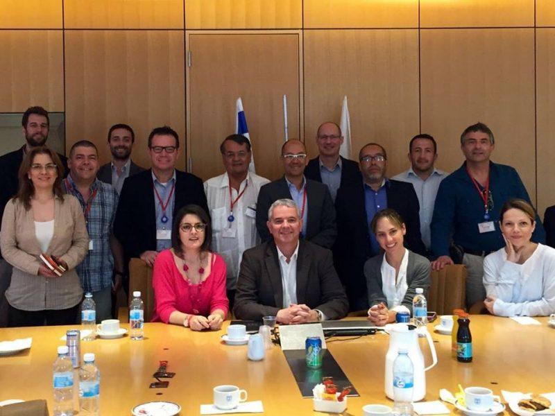 """Una delegación de periodistas colombianos viajó a Israel para conocer al país """"de primera mano"""""""