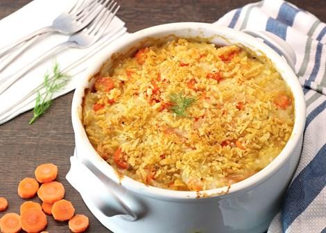 Gastronomía. Receta para Pésaj: Gratinado de papa y zanahoria