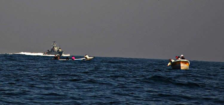 Dispararon desde Gaza contra un buque de la Marina israelí