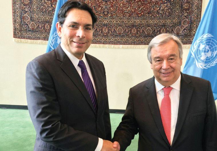"""Embajador de Israel al nuevo secretario general de la ONU: """"Sólo queremos que sea objetivo"""""""