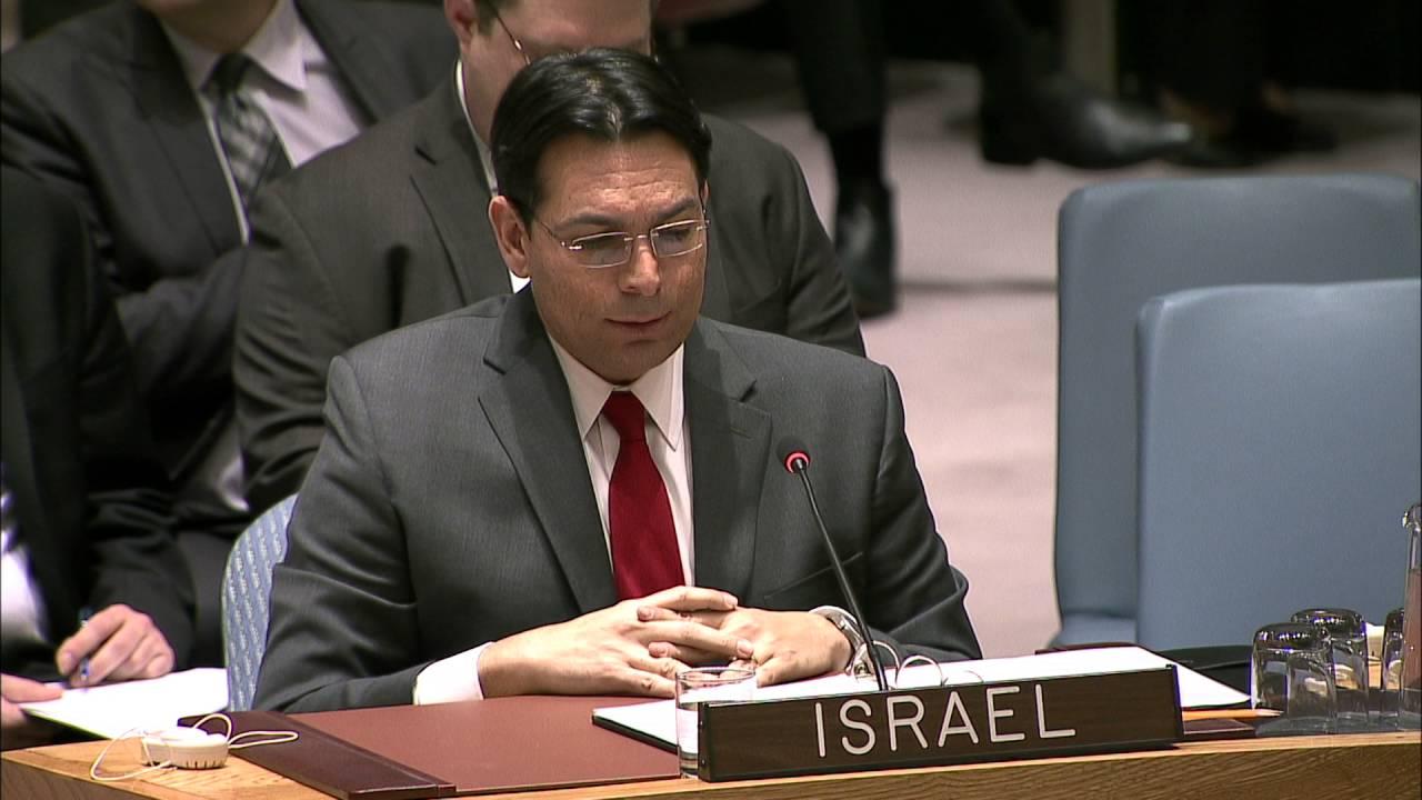 """Embajador israelí Danon al presidente egipcio: """"Estamos dispuestos a dialogar"""""""