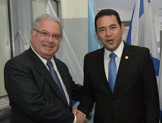 """Entrevista al embajador israelí en Guatemala: """"Ambos países tenemos una relación histórica muy cercana"""""""