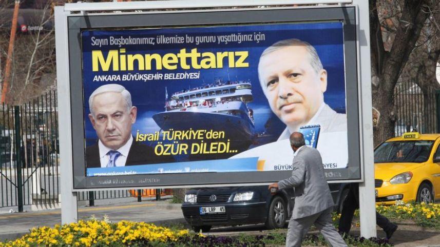 "Erdogan: ""Los equipos negociadores turcos e israelíes se encontrarán a mediados de mayo"""