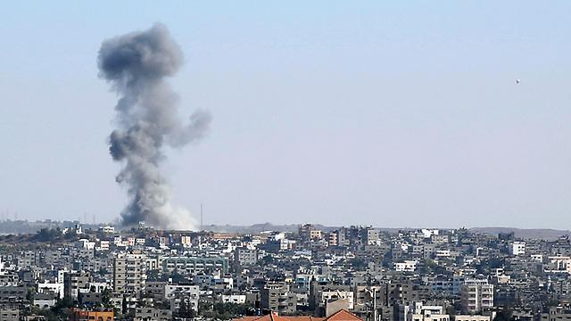 Palestinos informan ataques aéreos israelíes en Gaza