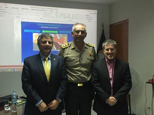 La comunidad judía de Perú invitó a Gabriel Ben Tasgal y Marcos Peckel para dar una Conferencia de Hasbará