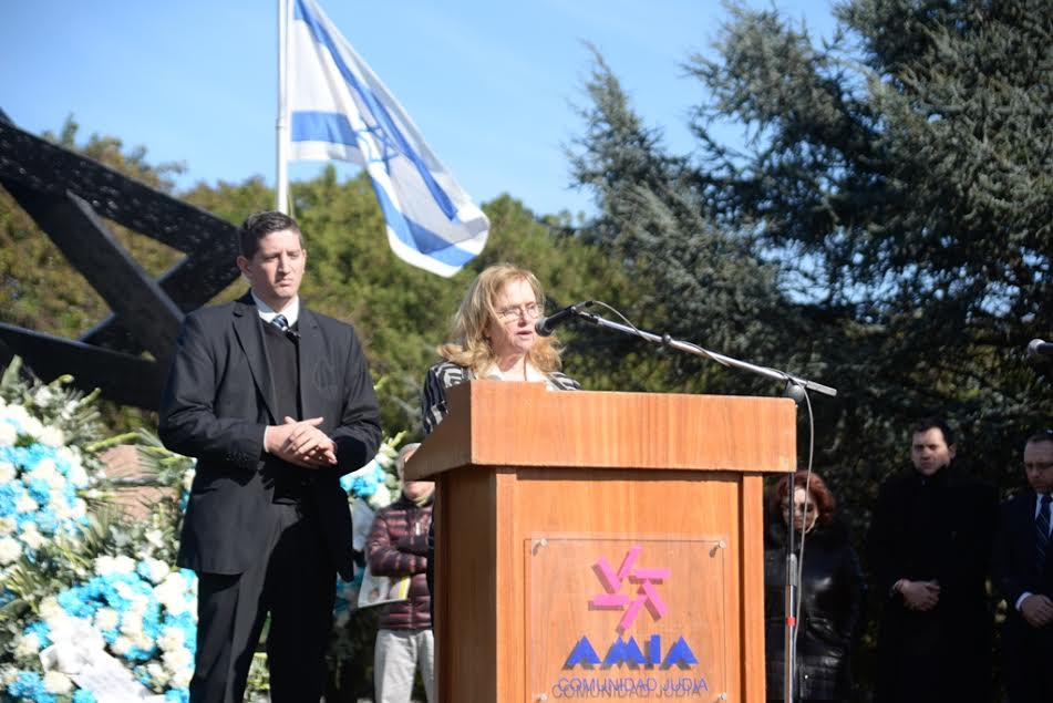 """Iom Hazikaron. Embajadora Dorit Shavit: """"Gran parte de la fortaleza del pueblo judío se debe a honrar la memoria de aquellos que no están"""""""