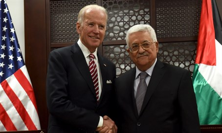 Abbas y Biden