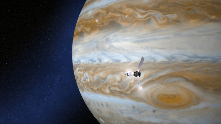 Científicos del Instituto Weizmann enviarán un reloj atómico a Júpiter