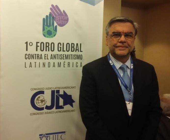 """Presidente de la Comunidad judía de Chile: """"El deterioro de la política en Latinoamérica crea las condiciones para el antisemitismo"""""""