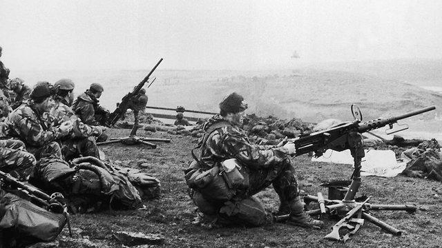 Gran bretaña revela la venta de armamento de Israel durante la Guerra de Malvinas