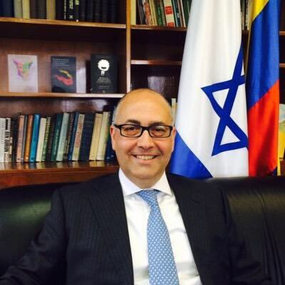 Carta del embajador de Israel en Colombia al Director del diario El Espectador